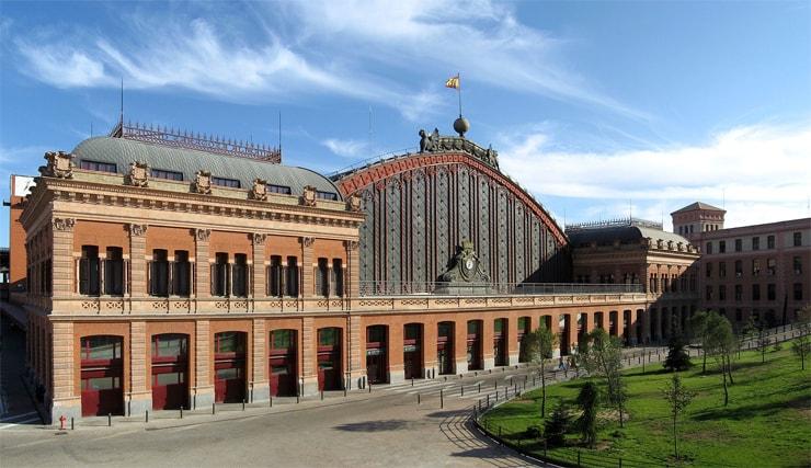 Atocha Bahnhof