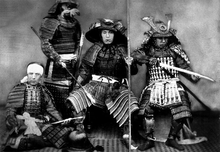 Echter Samurai