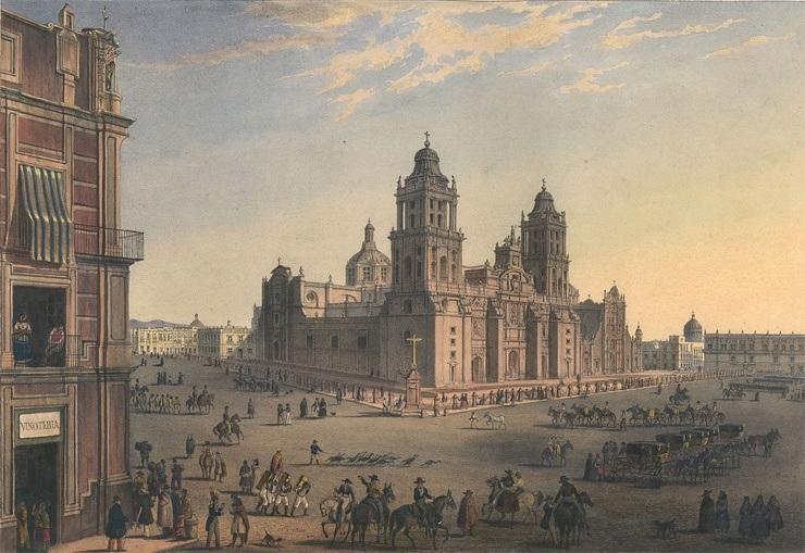 Plaza Mayor in Mexiko