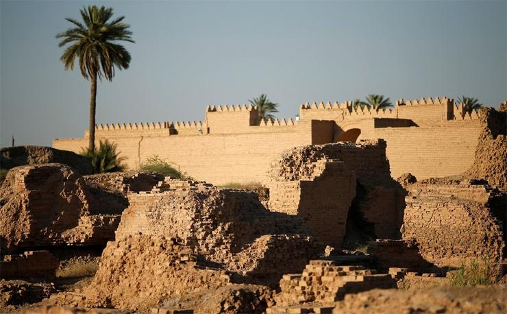Stadtmauern von Babylon