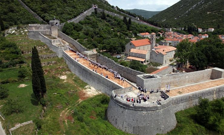 Stadtmauern von Ston