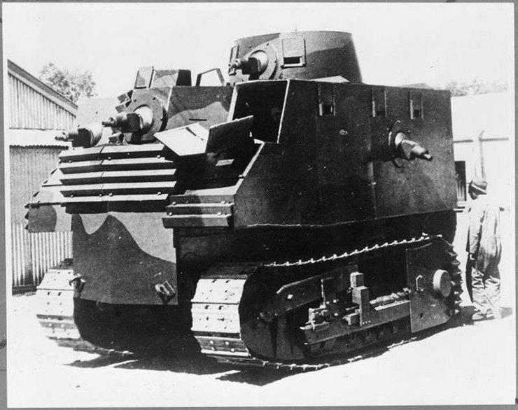 Bob Sample's Tank