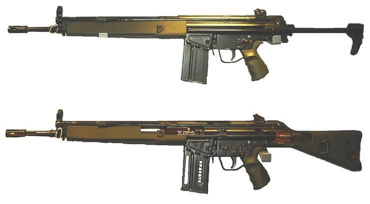 10 beliebtesten Schusswaffen der Welt - HK G3 Gewehr